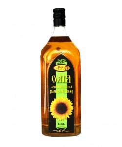 Соняшникова олія холодного віджиму 1.75л