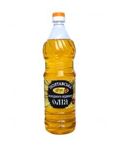 Соняшникова олія холодного віджиму 1л