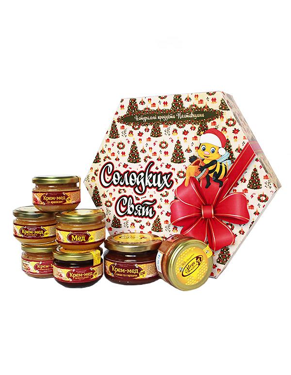Новорічний подарунок із крем-медами