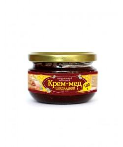 Крем-мед шоколадний 130г