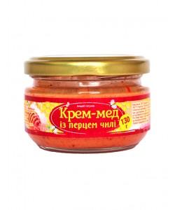 Крем-мед із перцем чилі 130г