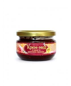 Крем-мед із какао та кокосовою стружкою 110г