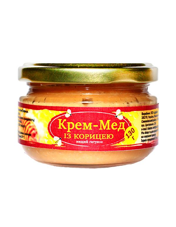 Крем-мед із корицею 130г