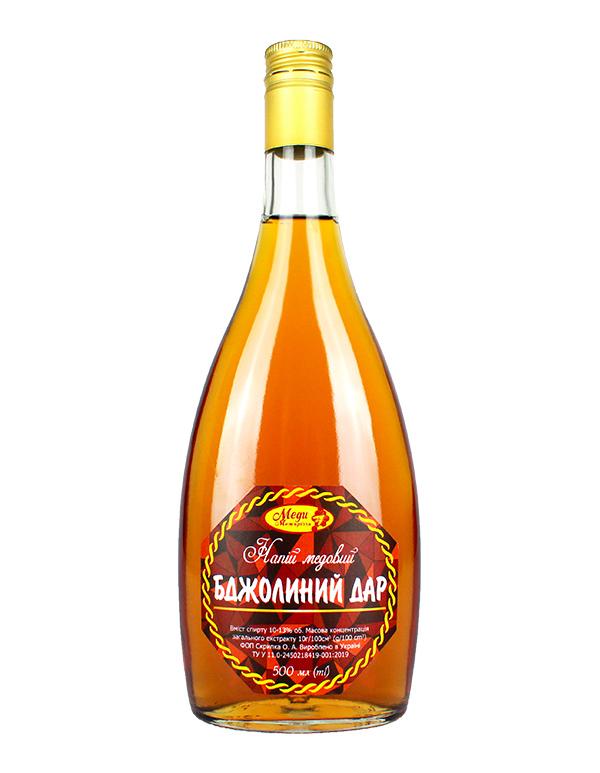 "Напій медовий ""Бджолиний дар"" 0.5л (опт)"