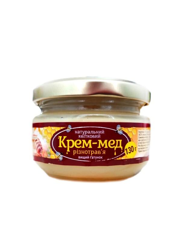 Крем-мед білий 130г