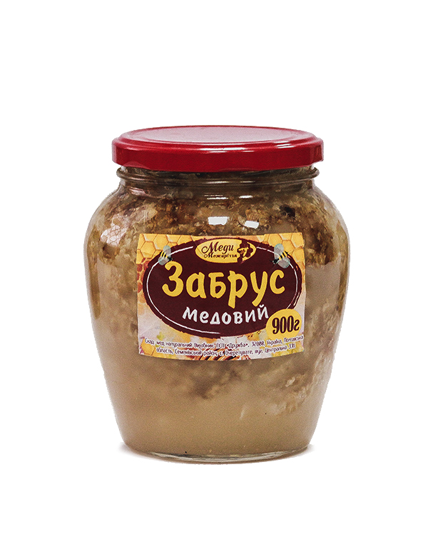Забрус (забрусний мед) 900г